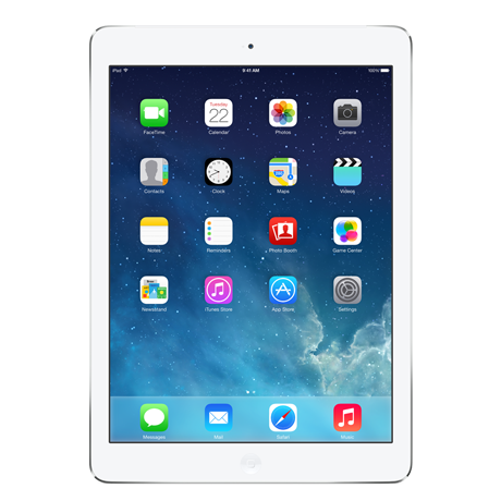 vector free iPad Air from Apple at Bell Mobility