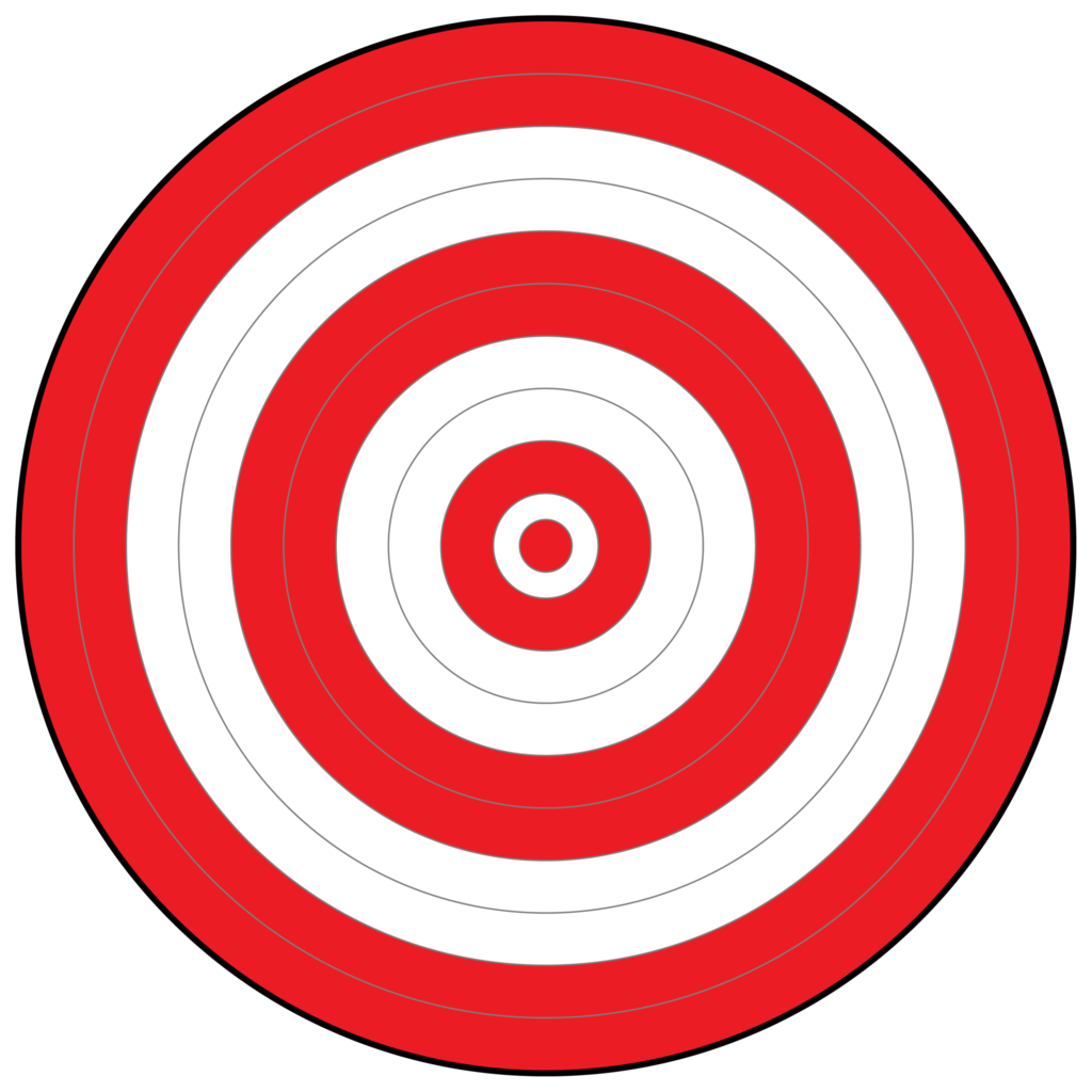 png royalty free download Target clipart. All red bullseye easy.