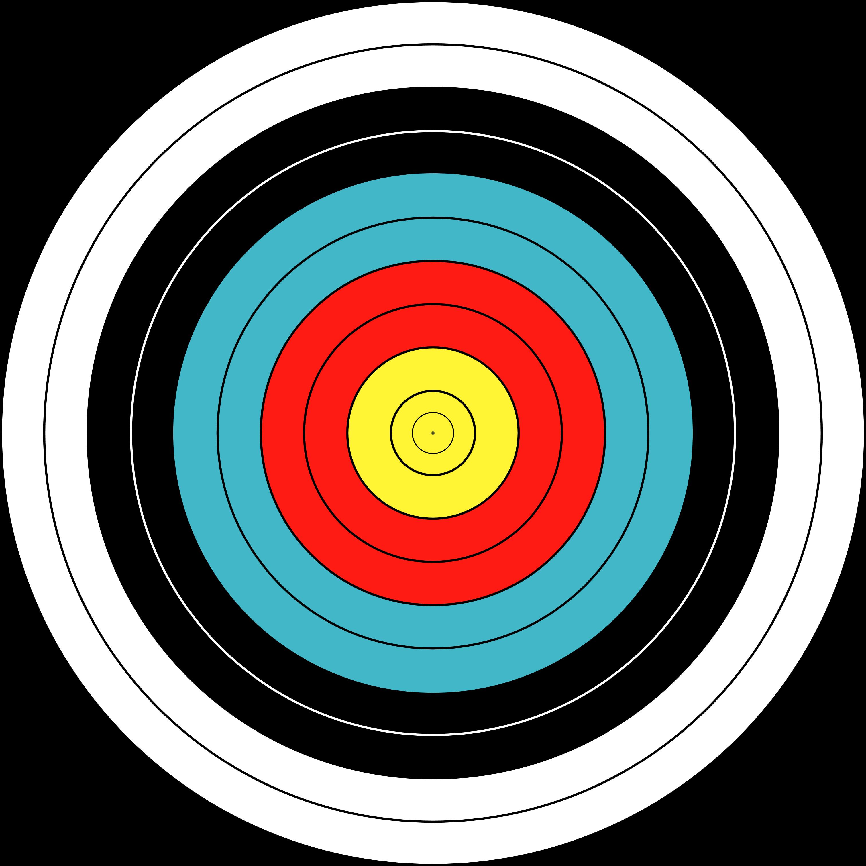 vector royalty free stock Free PNG Target Bullseye Transparent Target Bullseye