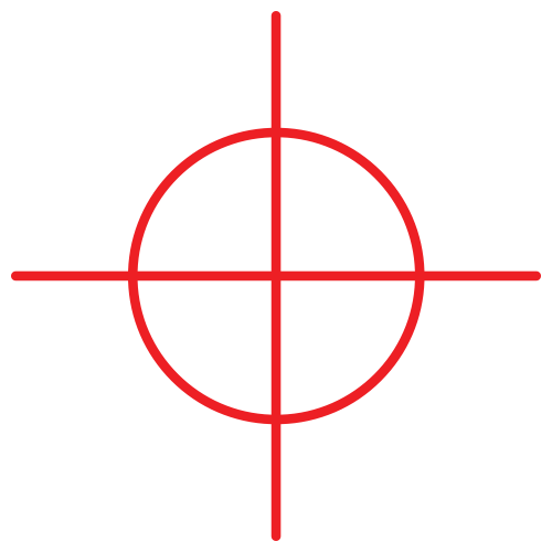 clipart royalty free library Crosshair PNG Transparent Image