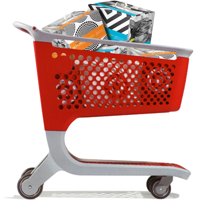 vector free download transparent target shopping cart #106802434