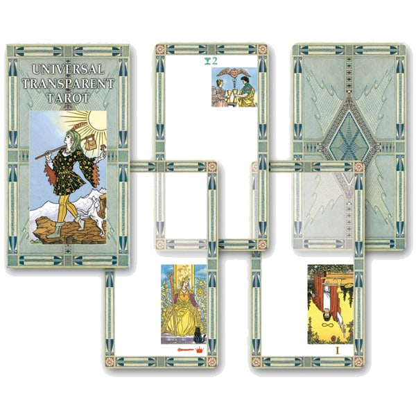 clipart free library Picture of Universal Transparent Tarot Deck
