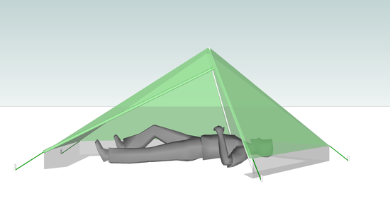 clip art black and white stock Input on MYOG tarp