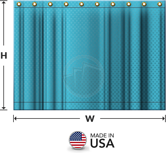 graphic freeuse download Custom Industrial Divider Curtains