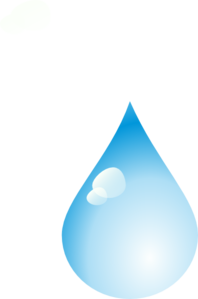 free library Droplets clipart single raindrop