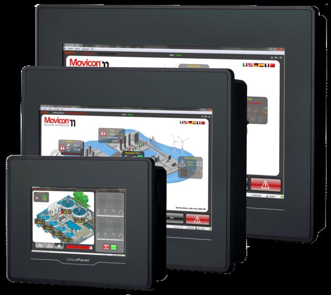 graphic New panel series yaskawa. Transparent technologies