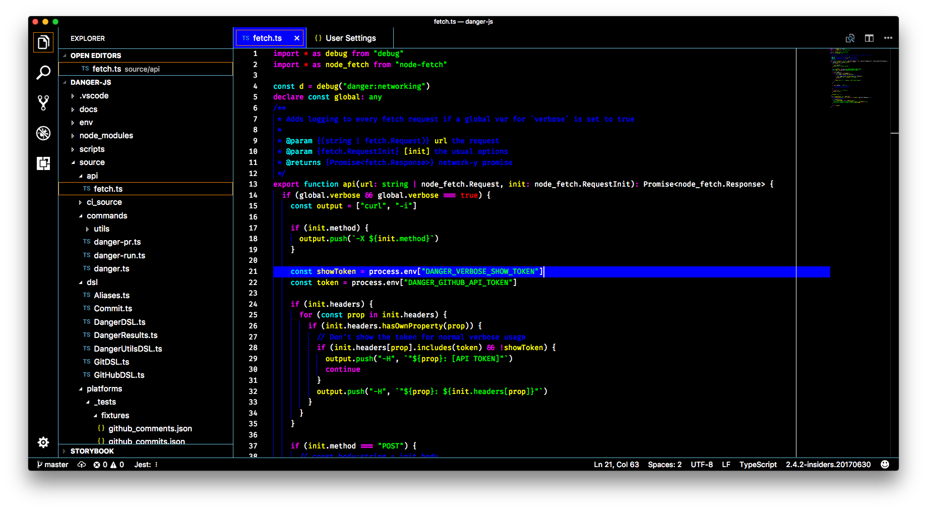 banner library VS Code themes