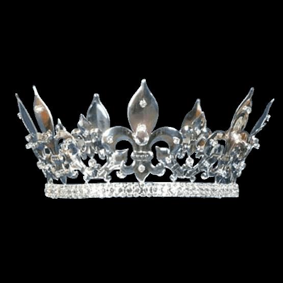 graphic Silver tiara png