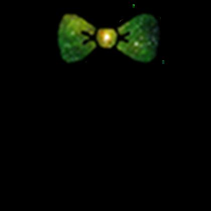 svg free Green Galaxy Bow Tie