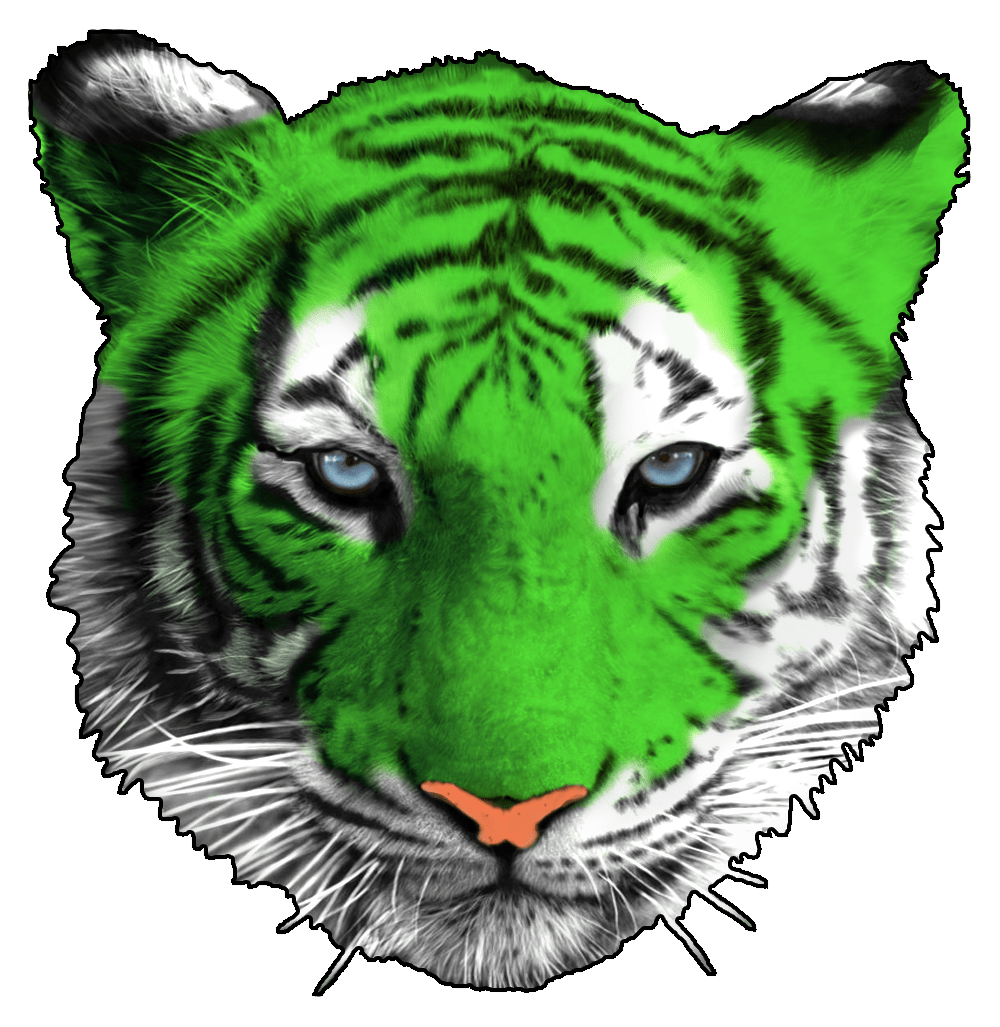 png library library . Transparent tiger green