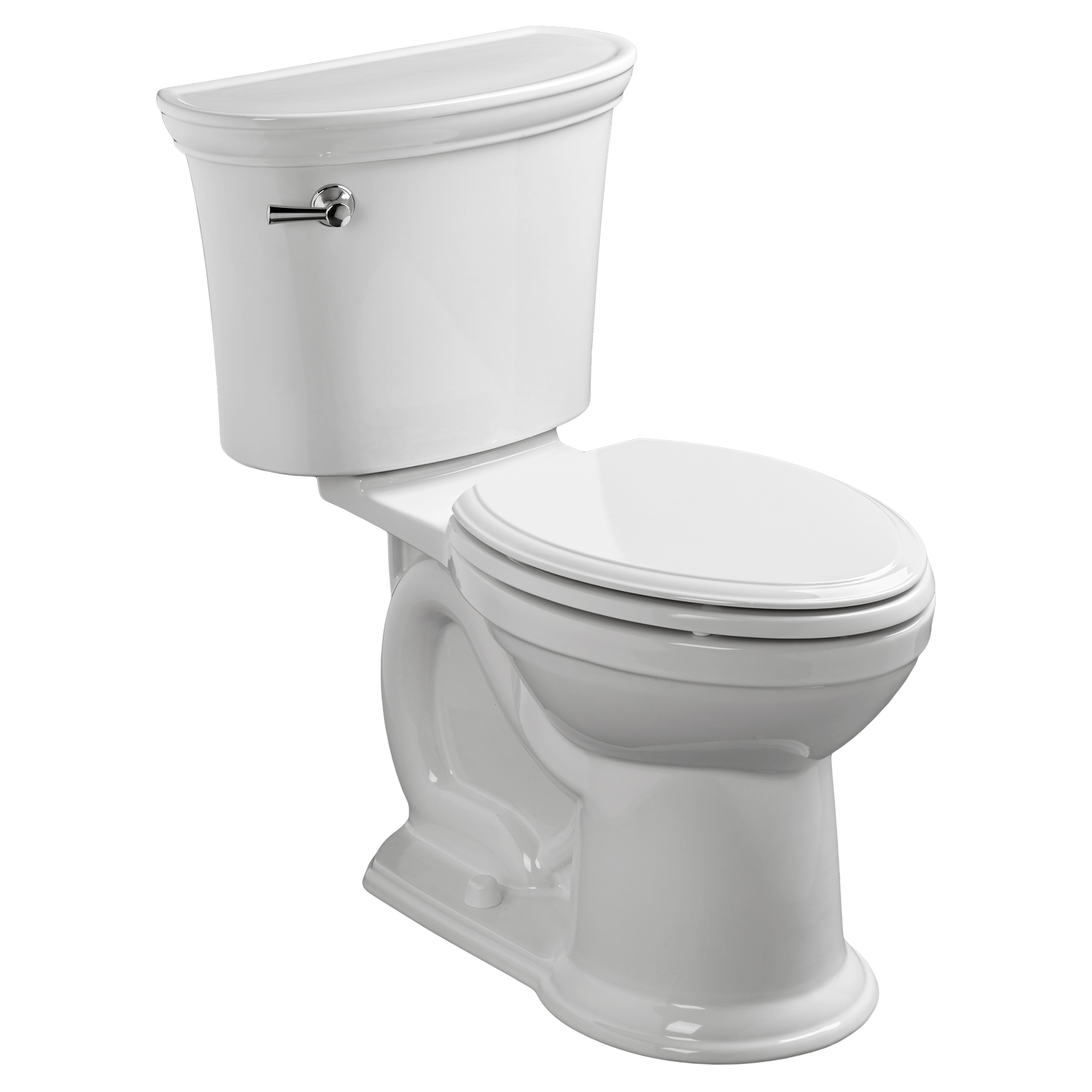 royalty free stock American Standard Esteem VorMax Right Height Elongated Toilet