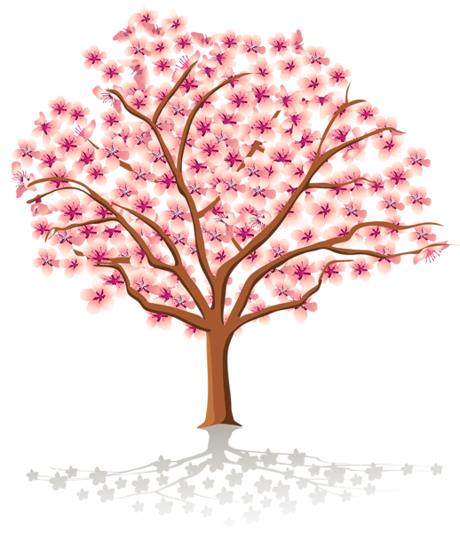 vector freeuse Transparent Spring Tree PNG Clipart