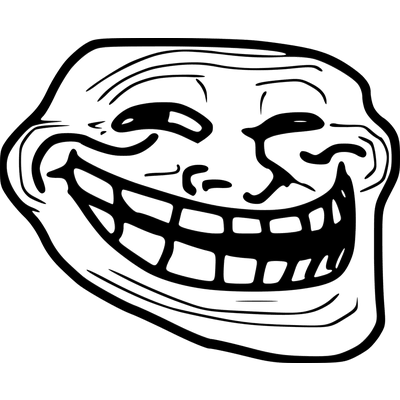 banner royalty free stock Troll Face transparent PNG images