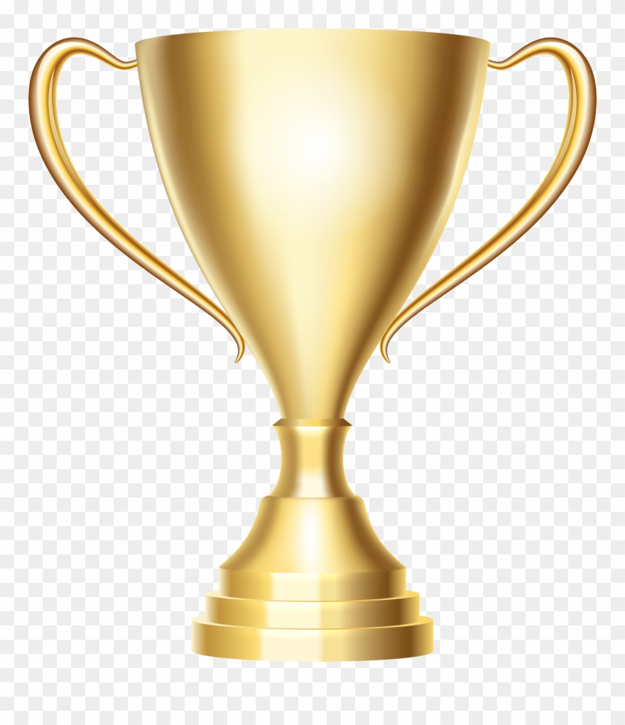 free download Transparent trophy. Gold cup award png