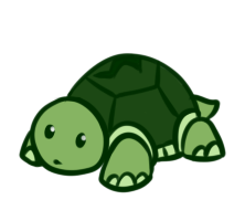 clipart black and white library Turtle by Paleclaw on DeviantArt