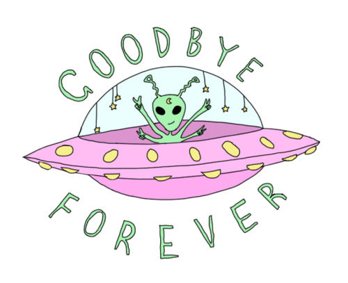 image transparent download Goodbye art forever hipster. Typography drawing cute