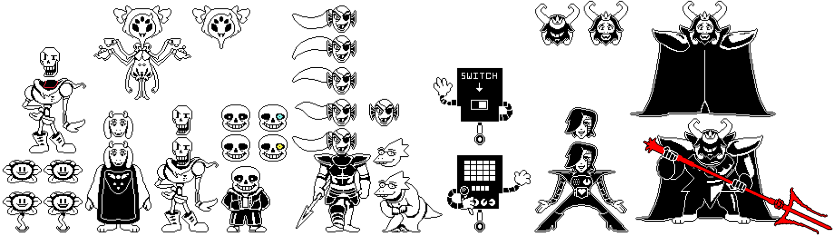 jpg library library Collection of free Undertale transparent