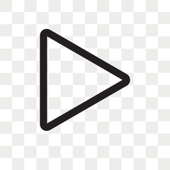 svg black and white download Transparent videos arrow. Play button png photos