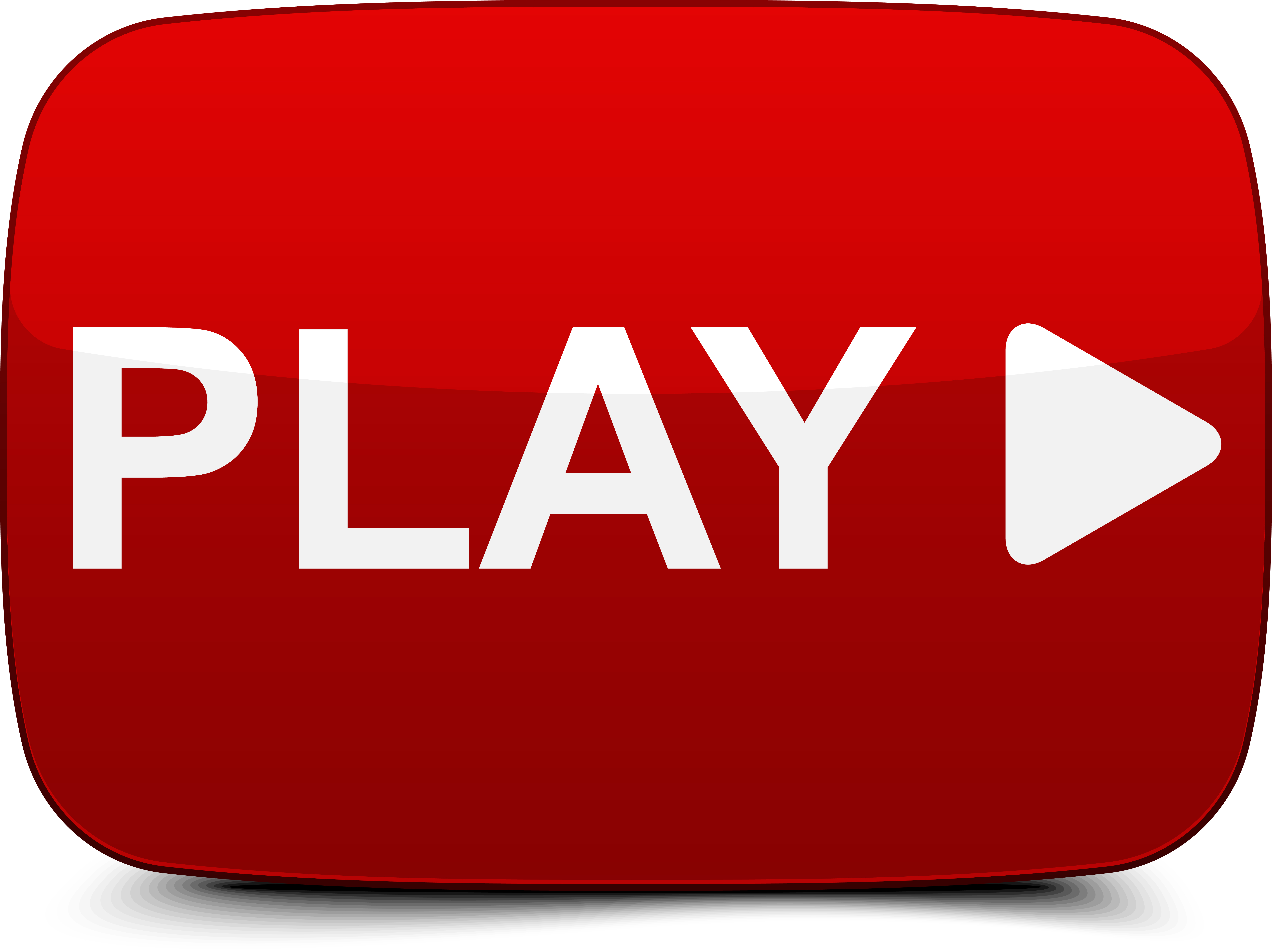 jpg freeuse library Transparent videos arrow. Video play icon free