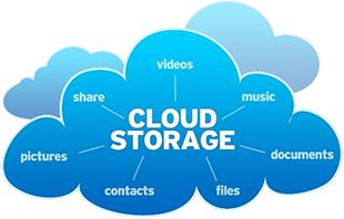 vector royalty free download Cloud Storage