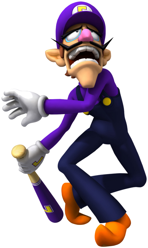clipart stock Transparent waluigi background.  png for free.