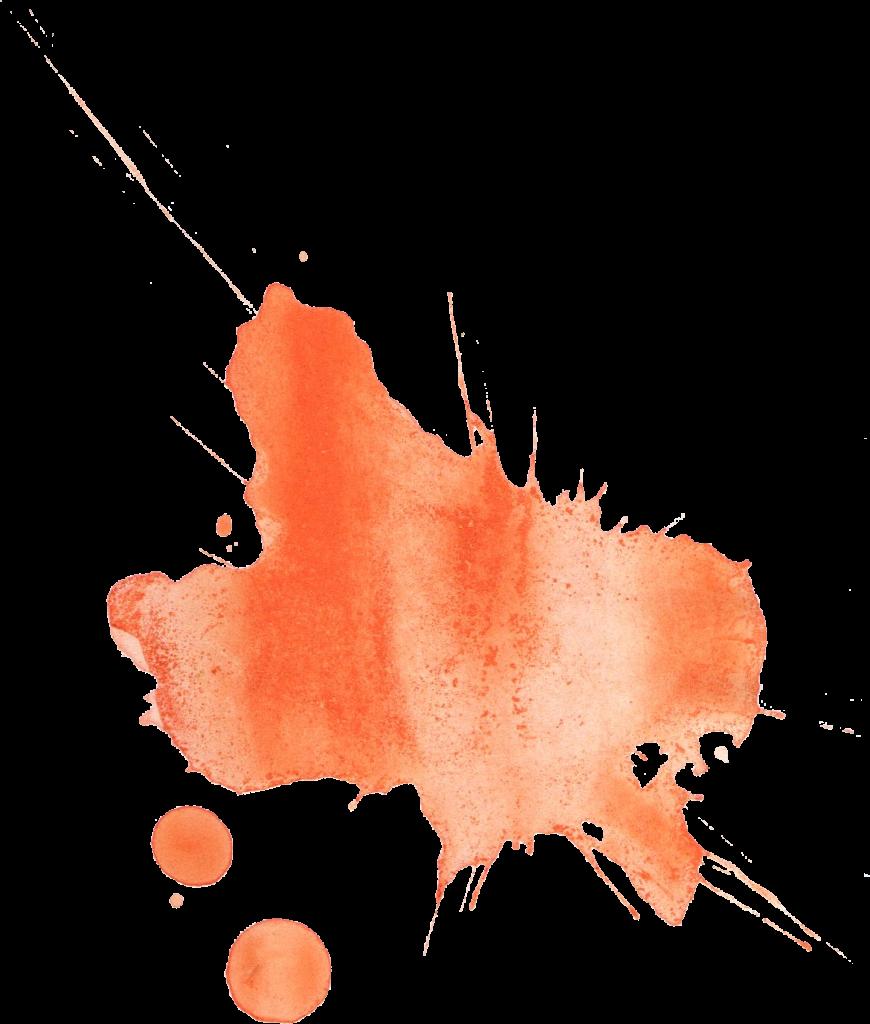 jpg free library transparent watercolours orange #106969809