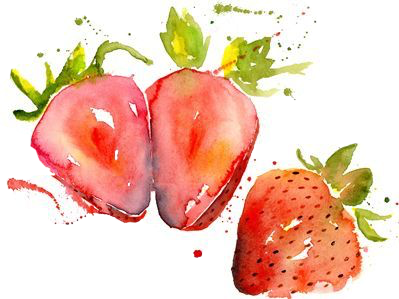 vector library download Drawing strawberries watercolor. Strawberry freetoedit report abuse