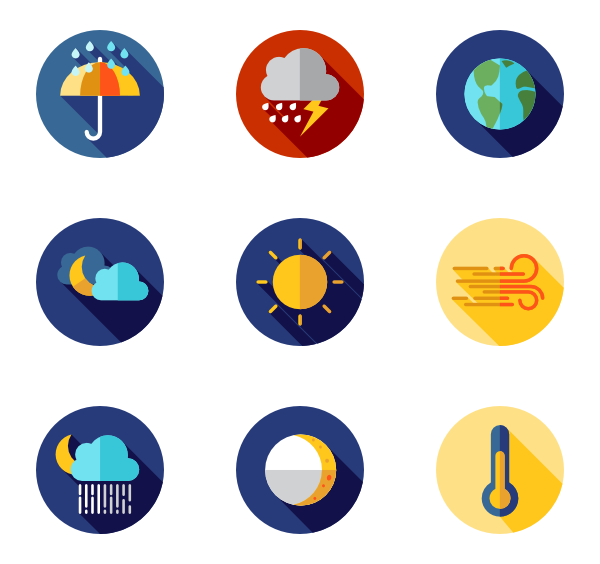 banner free library  icon packs vector. Transparent weather forecast
