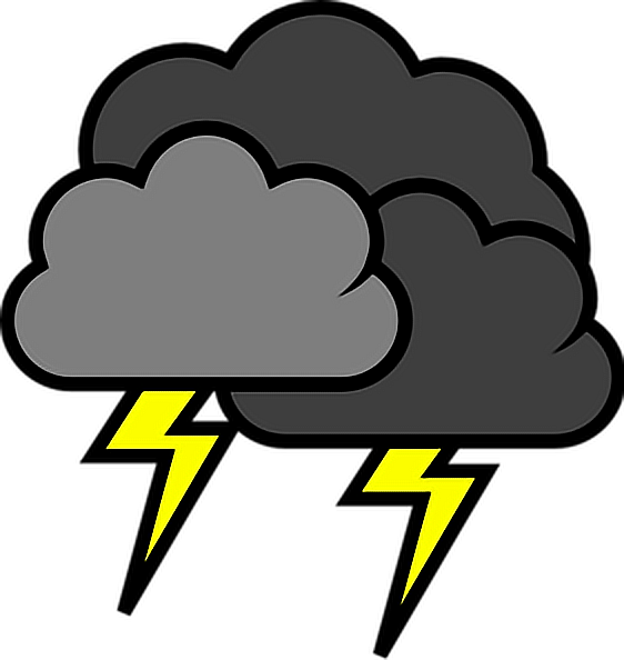 picture free download lightning stormy weather storms clouds blackclouds Free