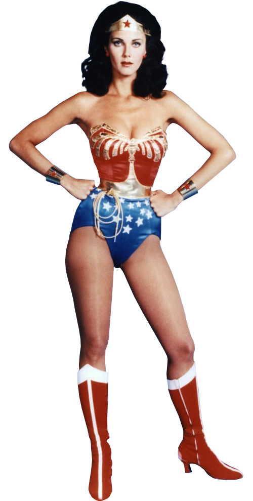 image library stock Wonder Woman Lynda Carter transparent background