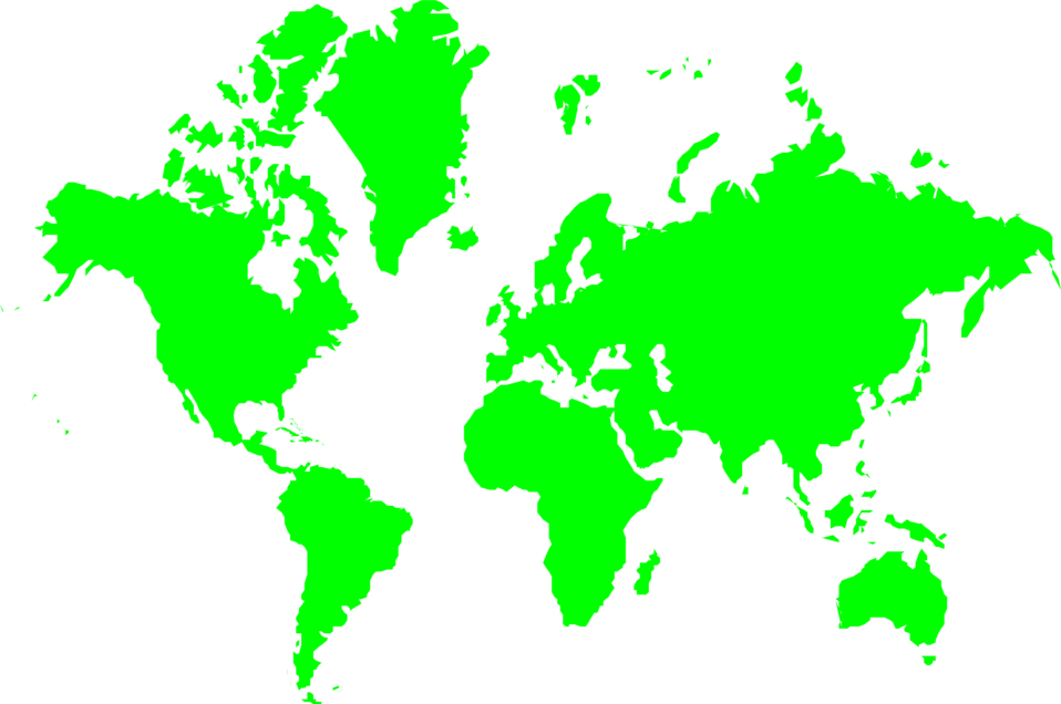 svg library stock Map World