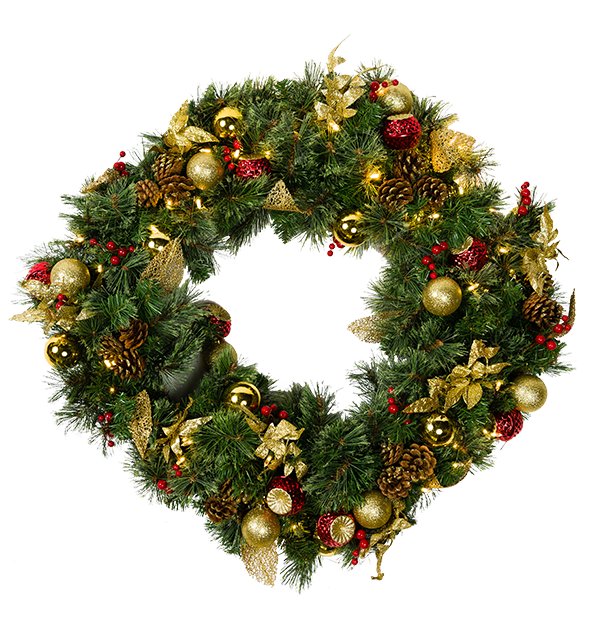 clipart free download transparent wreath light #107036769