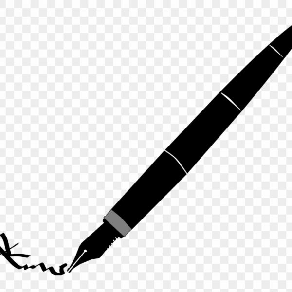 vector royalty free Clipart clip art free. Transparent writer pen and paper