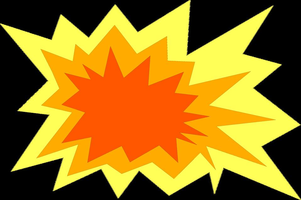 graphic royalty free stock transparent yellow burst #117608971