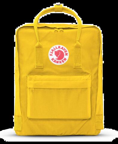 royalty free transparent yellow kanken #117608333