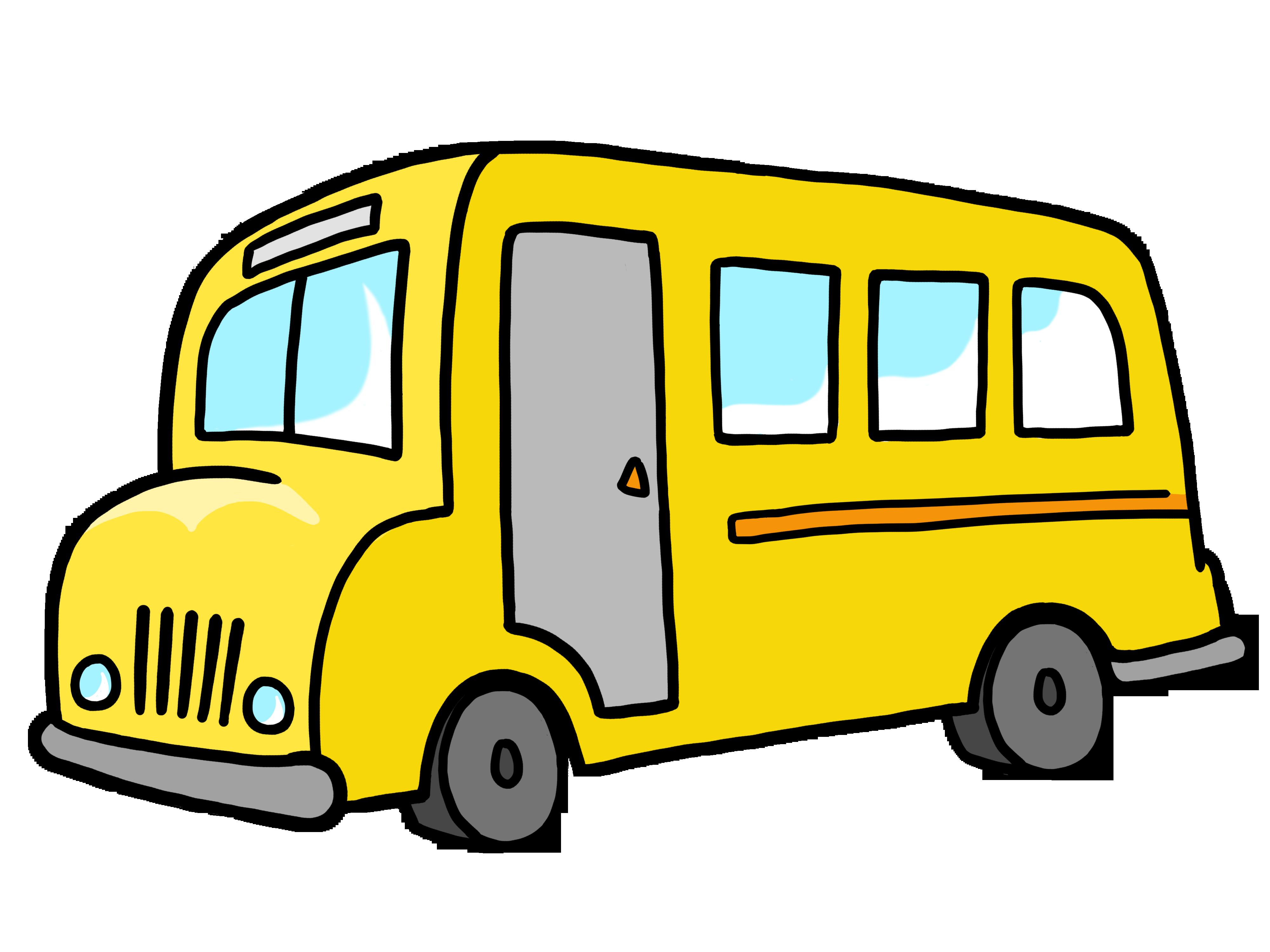 clip Vector bus sekolah. Transportation clipart