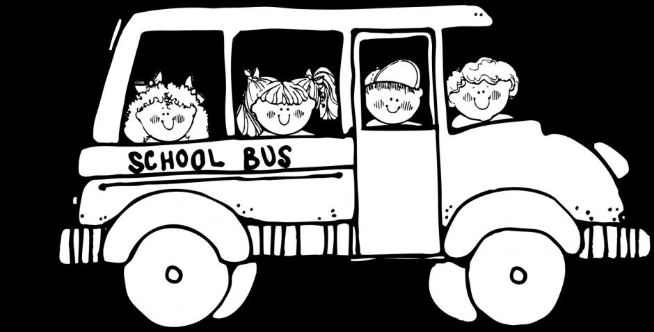 clipart free download Transportation clipart black and white. School bus clipartblack com