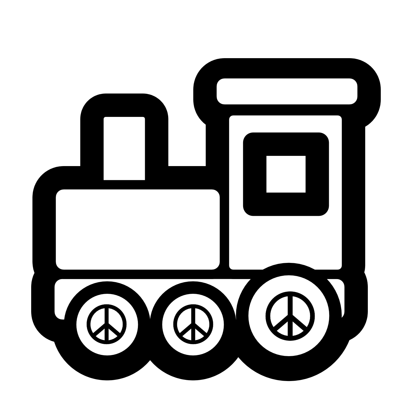 banner freeuse Train panda free images. Transportation clipart black and white