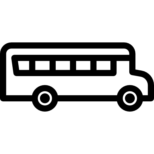clip library stock Buses transports means of. Transportation clipart black and white