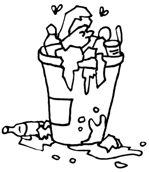clip art library download At getdrawings com free. Trash drawing.