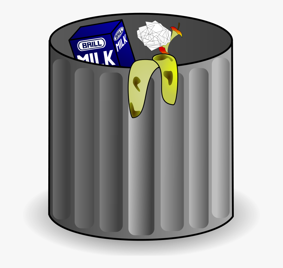 svg freeuse library Trash can png free. Trashcan clipart animated.