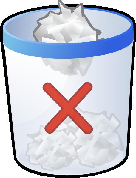 clip art download Trashcan clipart animated. Trash bin full clip