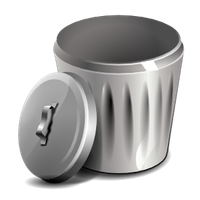 image royalty free Download trash can free. Trashcan clipart animated