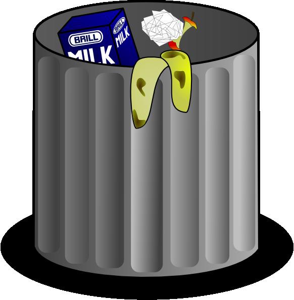 banner free stock Trashcan clipart animated. Trash clip art at