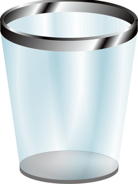 vector free download Trashcan clipart bin. Trash can png free.