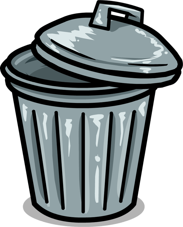 clipart transparent Trash can cartoonview co. Trashcan clipart cartoon