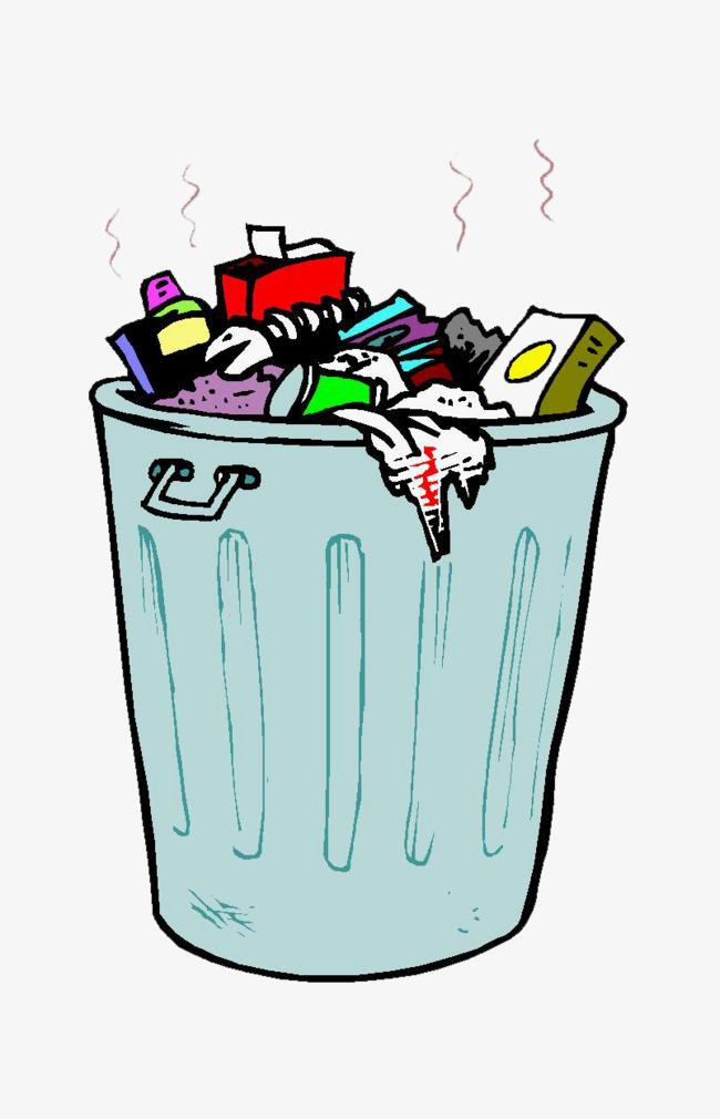vector royalty free  trash can clipartlook. Trashcan clipart cartoon