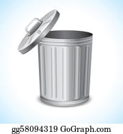 image free library Trashcan clipart garbage pail. Can clip art royalty