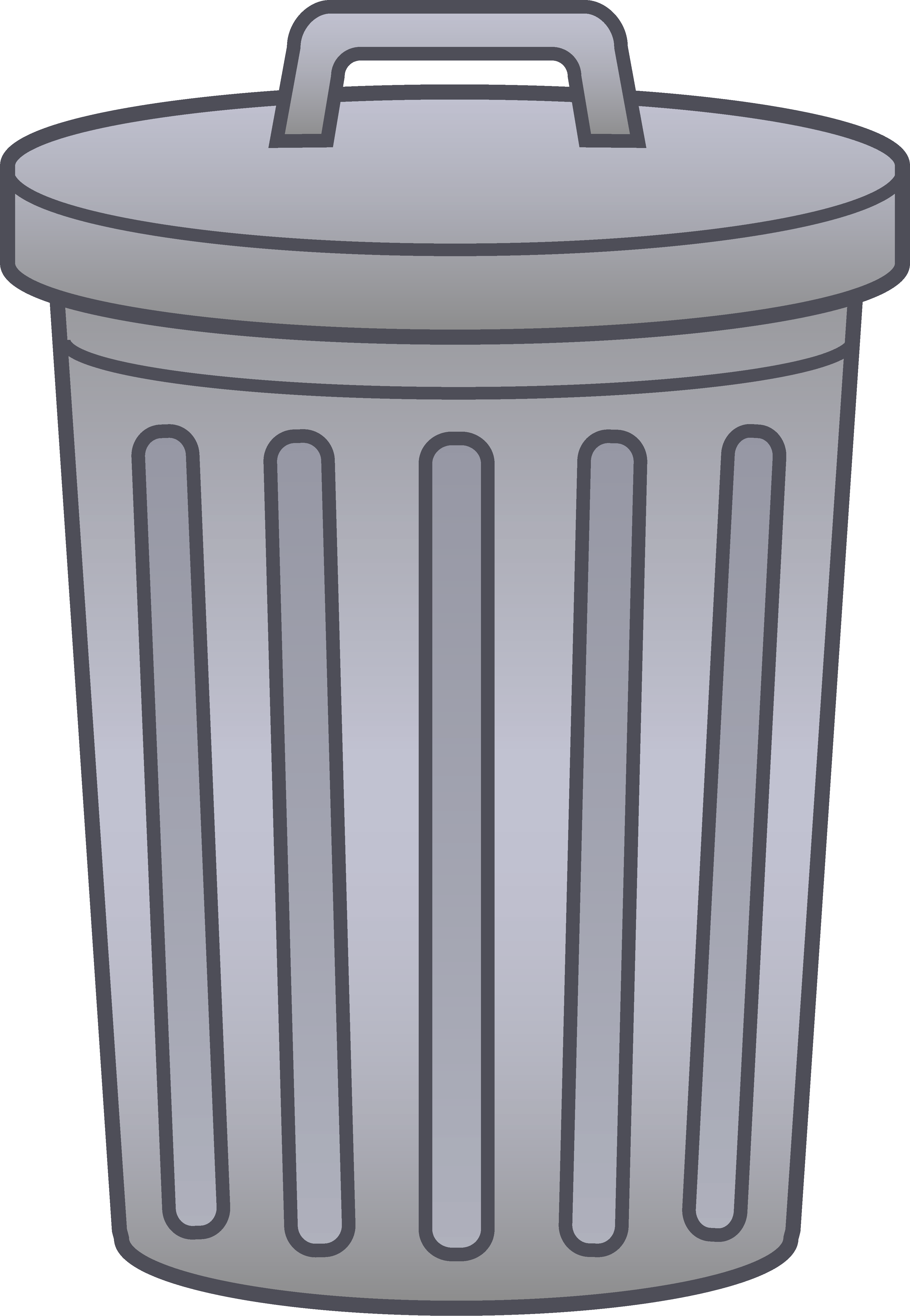 clip art black and white stock . Trashcan clipart garbage pail