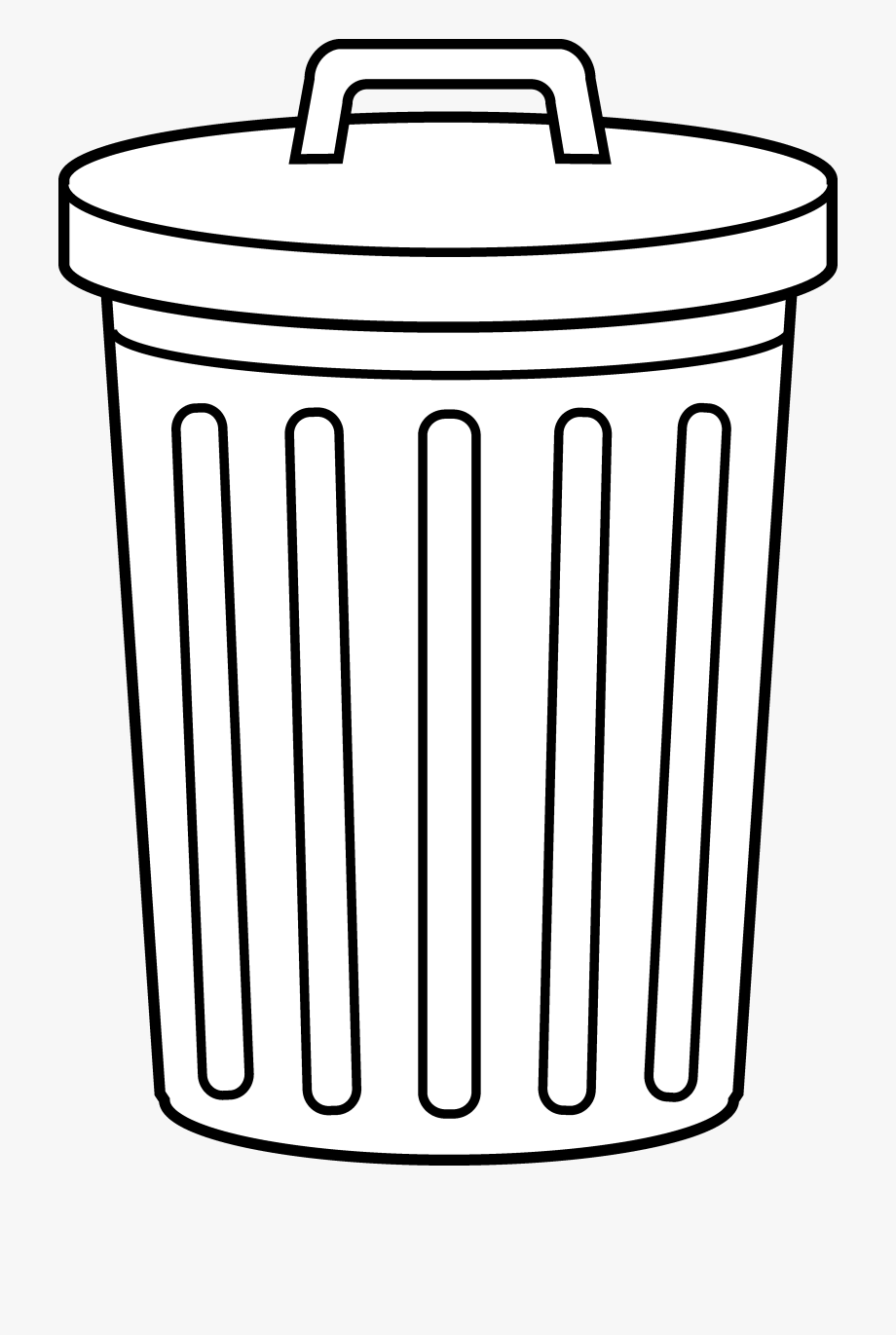 royalty free Download for free png. Trashcan clipart garbage pail